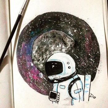 Spaceman by DachelleDarwed