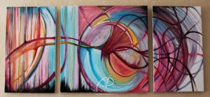 Oil Triptych by MD-Arts