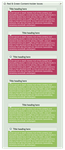 Red and Green content-holder boxes by CypherVisor