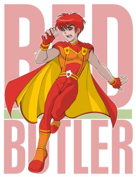 Red Butler by Ohakito