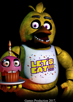 Chica - Poster by GamesProduction