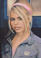 Rose Tyler - Dr Who by EclepticGears