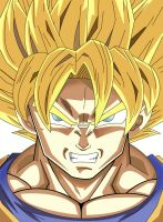 The Super Sayian by Lecyk