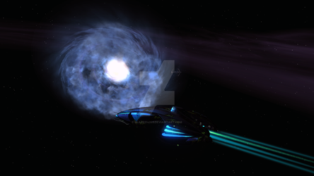 The other side of the Bajoran wormhole by blaze214263