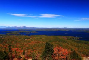 View from Mt Major by Celem