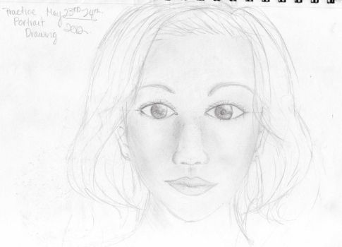 Practice With Realism Sketch by AsianBunnyZ7