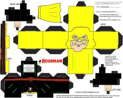 DC SH12: Hourman Cubee by TheFlyingDachshund