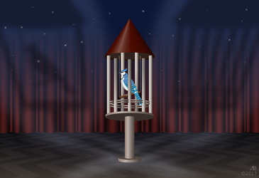 Bird in the cage - 2 by ankrie
