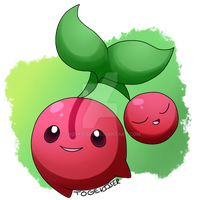 Pokeddexy: Favorite Grass Type - Cherubi