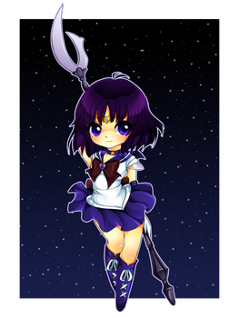 Sailor Saturn by Centi