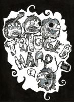 Trigger Happy T-Shirt Design by xXxSkullsxXx