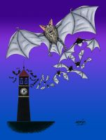 Halloween Countdown Day Two, Bats! by BillyJebens