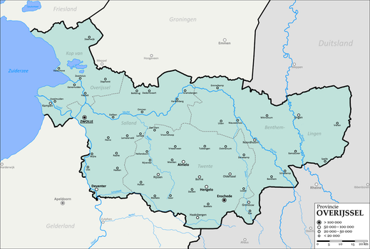 Province of Overijssel, The Netherlands by altmaps