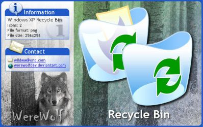 Windows XP Recycle Bin by werewolfdev