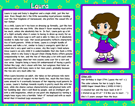 Profile: Laura by Nintendrawer