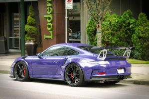 Ultraviolet GT3 RS by SeanTheCarSpotter