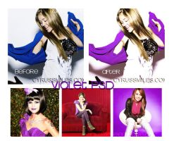 Violet PSD by makemefeelinlove