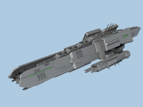 B type battleship WIP 2 by Morpheus2014