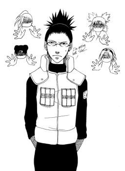 Shikamaru Plus Glasses Equals by AtlantisForester