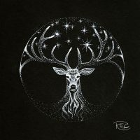 The White Stag by KettleQuill