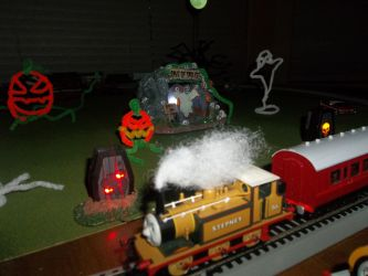 My Halloween Layout by Blockwave