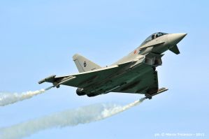 Typhoon fly-by by mc205veltro
