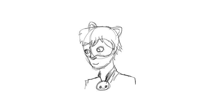 Chat Noir Animation Practice by Speckledtail