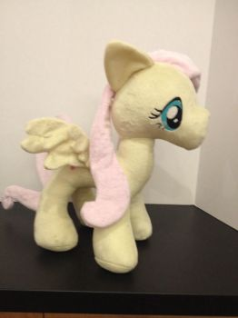 Fluttershy plush by troblemz