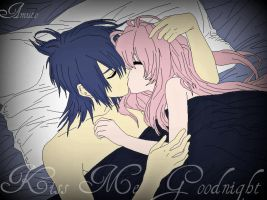 .:Kiss Me Goodnight:. by TsukiyoNoMarionette