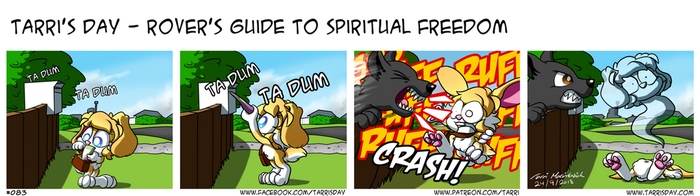 Tarri's Day - Rover's Guide to Spiritual Freedom by TarriPup