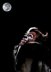 Howling at the Moon by TheMakeupArtist