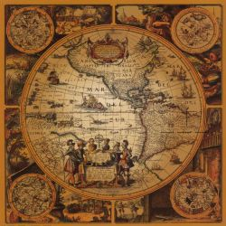 Ancient World Map by bilui