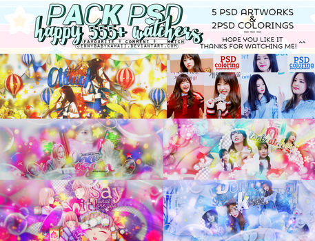 [PACK] HAPPY 555+ WATCHERS by JennyBabyKawaii