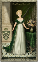 Model Challenge - Dawn - Round 11 - Regency dress by Arrelline