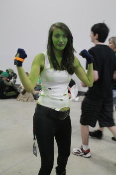 She-Hulk by VoiceofSupergirl