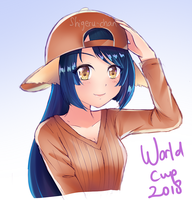 Kuon World Cup 2018 by shigeru-chan