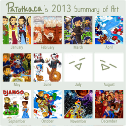 2013 with My Markers, Pencil, and Drawing Pen :D by PATotkaca