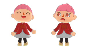MMD Female Villager DL by McChipy