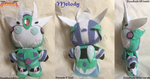 Commish - Melody Plushie by CinnaMonroe