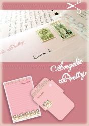 Angelic Pretty letter set by sachiko-hime