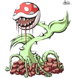 Piranha Plant by Artisteternal