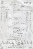 Ace Combat 3 International Edition Poster 1 SKETCH by DragonSpikeXIII