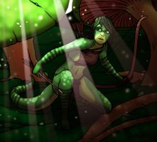 Coulais of the Green Sea V2 by JazzLizard