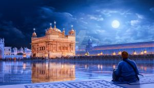 The Golden Temple by surendrarajawat