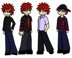 gaara outfit design by cloanime770