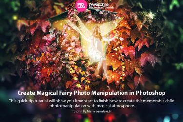 Create Magical Fairy Photo Manipulation by MariaSemelevich