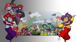 Logoless World of Shantae by Inkwell-Pony