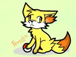 Fennekin by Shad-the-cat