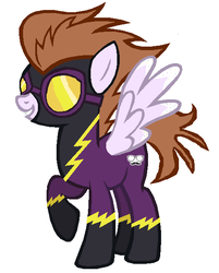 Moon Chaser as a Shadowbolt by LovelyLeoKika