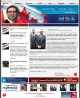 Ted Opitz - Conservative Party by enigmaticstudio